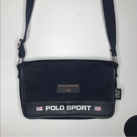 1af1456c51 Polo Sport Crossbody Bag - Vintage. M 5b65ccee2830957a841be397